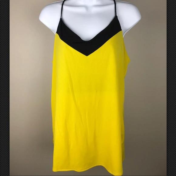 Worthington Tops - Worthington Women's Yellow Tank Sz M
